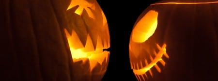 couverture-facebook-citrouille-face-a-face-halloween-lumière-célébration