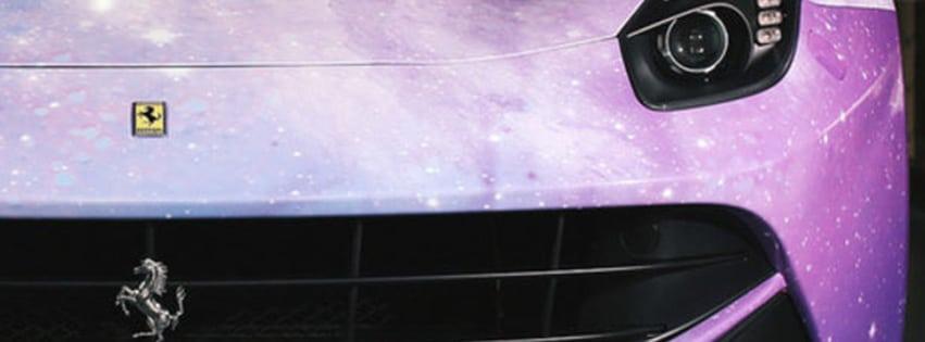 couverture-facebook-ferrari-rose-violet-voiture-de-luxe