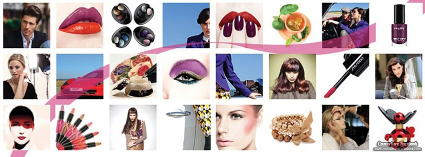 Couverture facebook cosm tique maquillage fbcouv couvertures facebook Fashion style and mode facebook