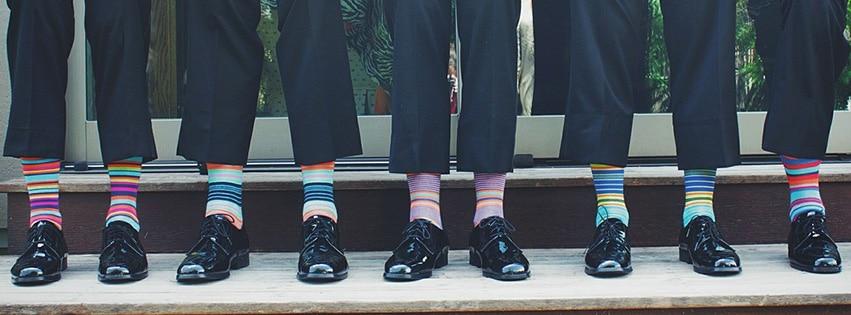 chaussettes-coloré