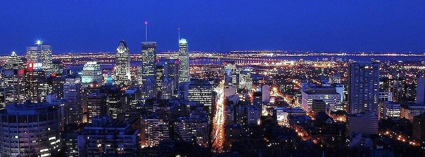 montreal-ville-canada-nuit-lumières