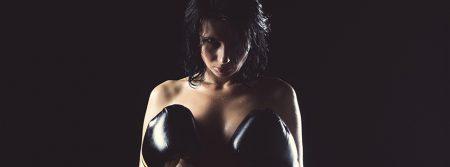 Fille-Boxeur-Punching