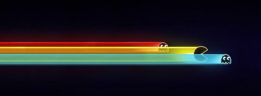 Couverture Facebook Pac Man game fbcouv.com