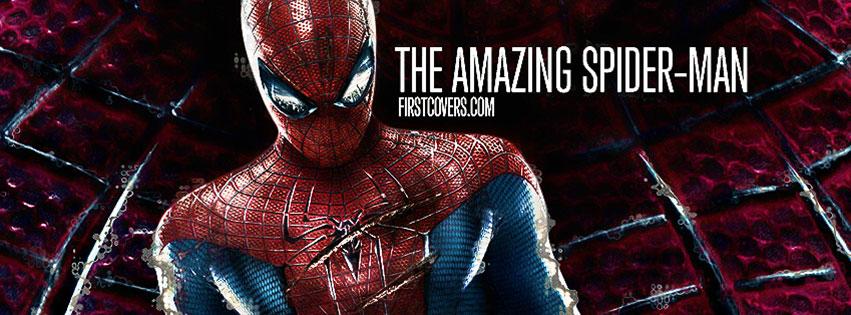 Couverture Facebook amazing Spiderman pour les fan du super héros