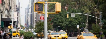 New-York taxi jaune ville oneway voyage fbcouv.com