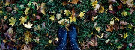 automne feuilles bottes en caoutchouc autumn fbcouv.com