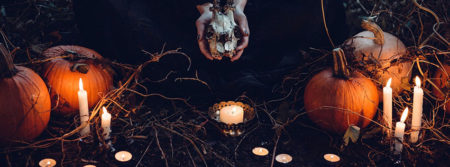 bougie chandelle cérémonie occulte-terrifiant rite candle fbcouv.com