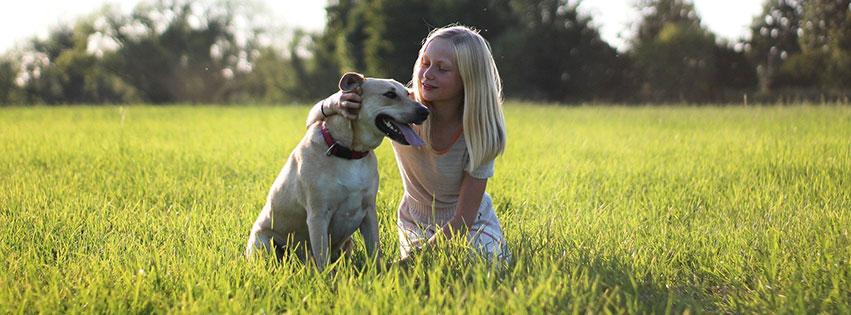 chien nature enfant animaux mignon child fbcouv.com
