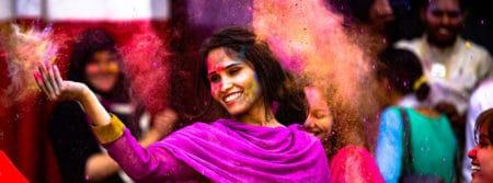 fille indien inde danse amusement holi fbcouv.com
