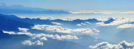 népal himalaya voyage photo aérienne montagne nuage fbcouv.com