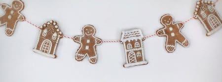 noël homme pain d'épice gingerbread men fbcouv.com