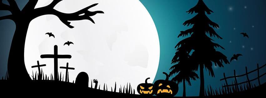 nuit terrifiant clair lune sombre halloween fbcouv.com