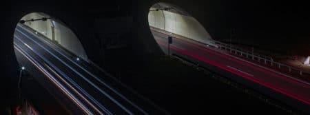 route autoroute lumières auto nuit tunnel vitesse road fbcouv.com