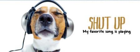 shut j'écoute ma musique préféré fbcouv.com