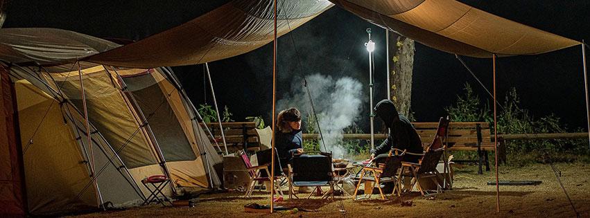 personnes camping tente mode vie  voyage nuit people fbcouv.com