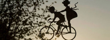 vélo décoration enfants bienvenue sign fbcouv.com